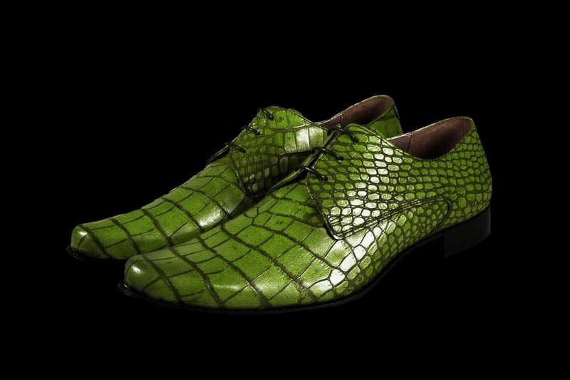 Shoes crocodile, alligator, caiman, python, ostrich, elephant, monitor ...